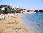 Amoudara, a sandy beach 3 km from the city by the coast